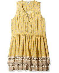 William Rast - Devondra Pintuck Dress, - Lyst