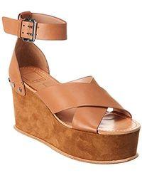 527a62b9c35 Lyst - Dolce Vita Dalrae Wedge Sandal in Brown
