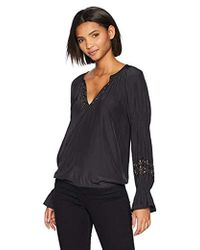 Ramy Brook - Antonia Embellished Long Sleeve Top - Lyst