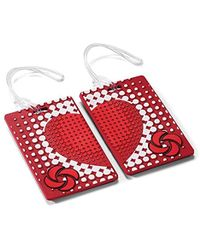 Samsonite - Designer Luggage Id Tags-true Love (pair) - Lyst