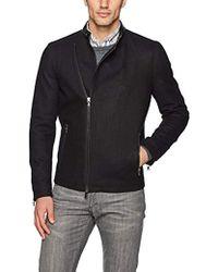 John Varvatos - Asymmetrical Zip Jacket - Lyst