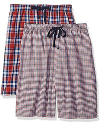 Hanes - 2-pack Woven Pajama Short - Lyst