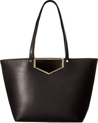 Calvin Klein - Novelty Cut Out Hardware Tote - Lyst