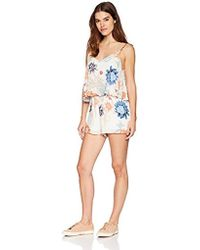MINKPINK - Zion Layered Playsuit - Lyst