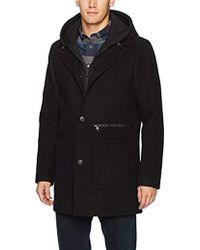 SOIA & KYO - Graham Mid Length Wool Jacket With Removable Bib And Hood - Lyst