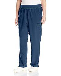 Carhartt - Cross-flex Plus Size Straight Leg Knit Waist Cargo Scrub Pant - Lyst