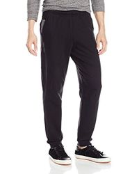 Calvin Klein - Mixed Media Terry Sweatpant - Lyst