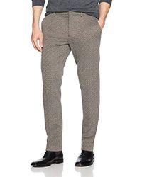 62847dfc26a3 Lyst - Eleventy Diamond-print Jacquard Jogger Pants in Gray for Men
