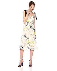 9ec37ea8629 O'neill Sportswear Talina Long Sleeve Floral Print Midi Dress in ...