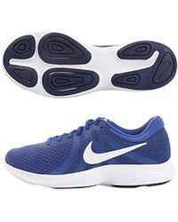 7b96c7a6ce232 Lyst - Nike Revolution 4 Running Shoe in Blue for Men