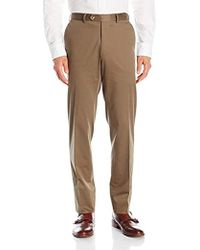 Franklin Tailored - Soft Summer Peach Cotton Keene Trouser - Lyst