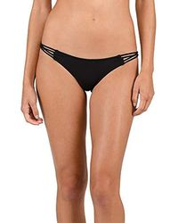 50651de3072 Volcom - Simply Solid Tiny Bikini Bottom - Lyst