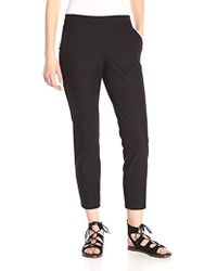 Theory - Cropped Thaniel Pull On Pant - Lyst