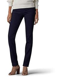 Lee Jeans - 's Sculpting Slim Fit Slim Leg Pull On Jean - Lyst