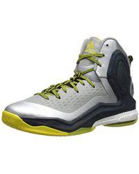 8cdfbf44c0d0 Lyst - adidas D Rose 5 Boost Men Us 15 Black Basketball Shoe in ...