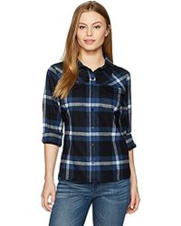Pendleton - Petite Size Christina Ultrafine Merino Plaid Shirt - Lyst