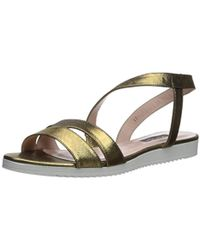 1d2859473 Lyst - SJP by Sarah Jessica Parker Zoe Glittery Thong Sandals in ...