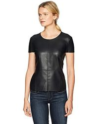 Bailey 44 - Hardy Leather Date Night Front Tee - Lyst