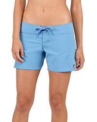 434e03223d Volcom Gmj Boyfriend Shorts (turkish Blue) Shorts in Blue - Save 7% - Lyst