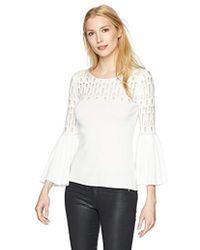 Bailey 44 - Street Fair Bell Sleev Sweater - Lyst