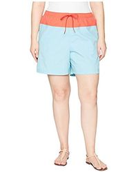 716a83e2a9 Free People Shorts Color Denim Cut Off in Melon in Pink - Lyst