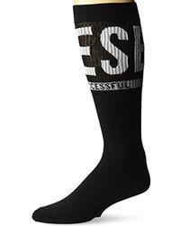 DIESEL - Ray Logo Socks - Lyst