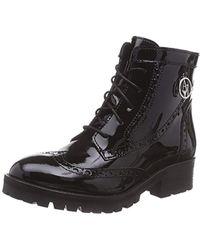 Armani Jeans - Patent Wingtip Boot - Lyst