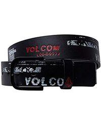Volcom - Empty Pu Belt - Lyst