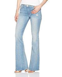 Hudson Jeans - Mia Midrise Flare 5 Pocket Jean - Lyst
