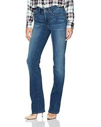 NYDJ - Marilyn Straight Jeans In Smart Embrace Denim - Lyst