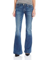 7 For All Mankind - Petite Size The Tailorless Dojo Trouser Jean (short Inseam) - Lyst