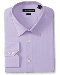 c7871721c3c Lyst - Van Heusen Men s Classic-fit Non-iron Pincord Dress Shirt in ...