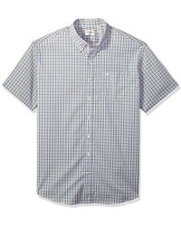 Dockers - Big And Tall Bt Comfort Stretch No Wrinkle Short Sleeve Buttonfront Shirt - Lyst