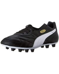 7f0dfd5b1 Lyst - PUMA King Top City Fg Men s Firm Ground Soccer Cleats in Red ...