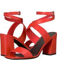 Via Spiga - Evelia Ankle Wrap Sandal Heeled - Lyst