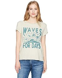 Billabong - Waves For Days Tee - Lyst