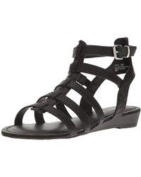 f813f4f2dfa Lyst - Madden Girl Penna Tall Gladiator Sandals in Black