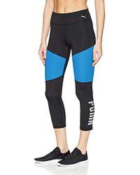 PUMA - Sharp Shape 3/4 Tight Leggings, - Lyst