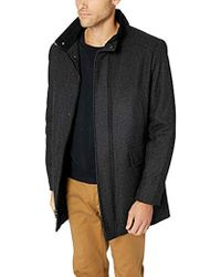 Calvin Klein - Wool Walker Coat - Lyst