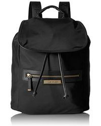 Calvin Klein - Key Item Nylon Flap Backpack - Lyst