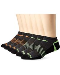 Saucony - 6 Pack Competition Arch Support And Smooth Toe Seam Low Cut Socks - Lyst