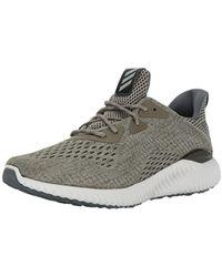 70834a940e313 adidas - Alphabounce Em M Running Shoe Olive trace Cargo grey One