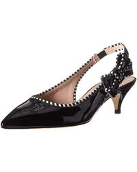 5dcbc4fe2 Lyst - Sam Edelman Ollie Calf Leather Heels in Black
