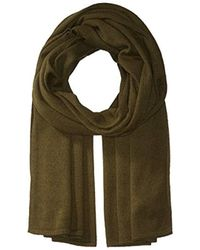 French Connection - Wool Blend Knit Scarf - Lyst