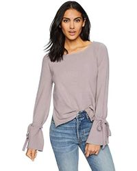 Cupcakes And Cashmere - Kirby Tie Sleeve Sweater, - Lyst
