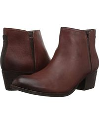 Clarks - Maypearl Ramie Ankle Bootie - Lyst