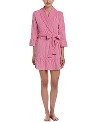 6c9368668d Juicy Couture - Black Label Ruffle Robe - Lyst