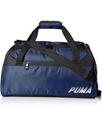 1ae8725047 Lyst - PUMA Italia Evopower Medium Duffel Bag in Blue for Men