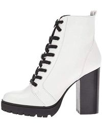 Steve Madden - Laurie Combat Boot - Lyst