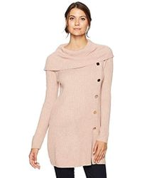 Ivanka Trump - Aysmetrical Button Sweater - Lyst